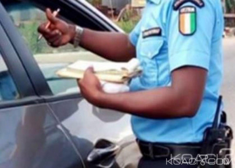 Côte d'Ivoire : Trois agents de police pris en flagrant délit de racket mis aux arrêts et écroués