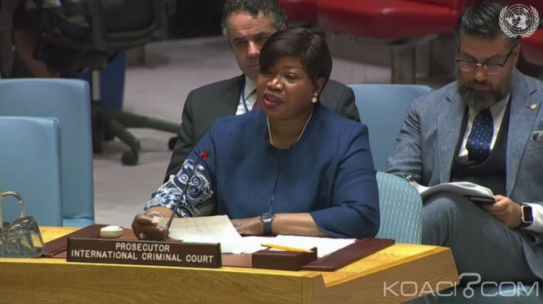 Soudan: Devant l'ONU, Fatou Bensouda réclame de nouveau Omar El Béchir