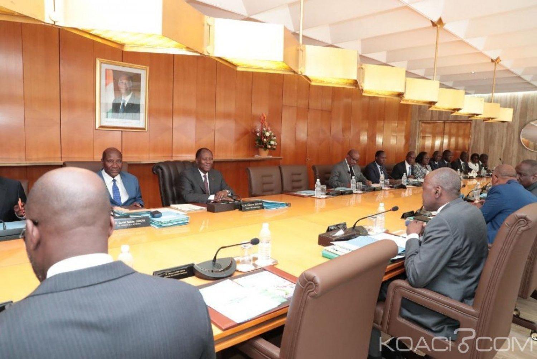 Côte d'Ivoire : Nominations de plusieurs personnalités entérinées par le Gouvernement ivoirien