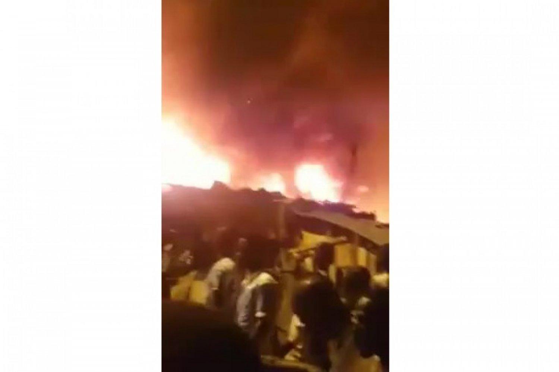 Côte d'Ivoire: Le feu ravage plusieurs baraques à Yopougon