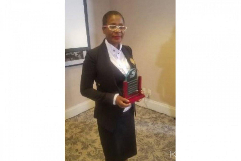 Côte d'Ivoire: Jeannette Badouel maire de Logoualé distinguée à New York