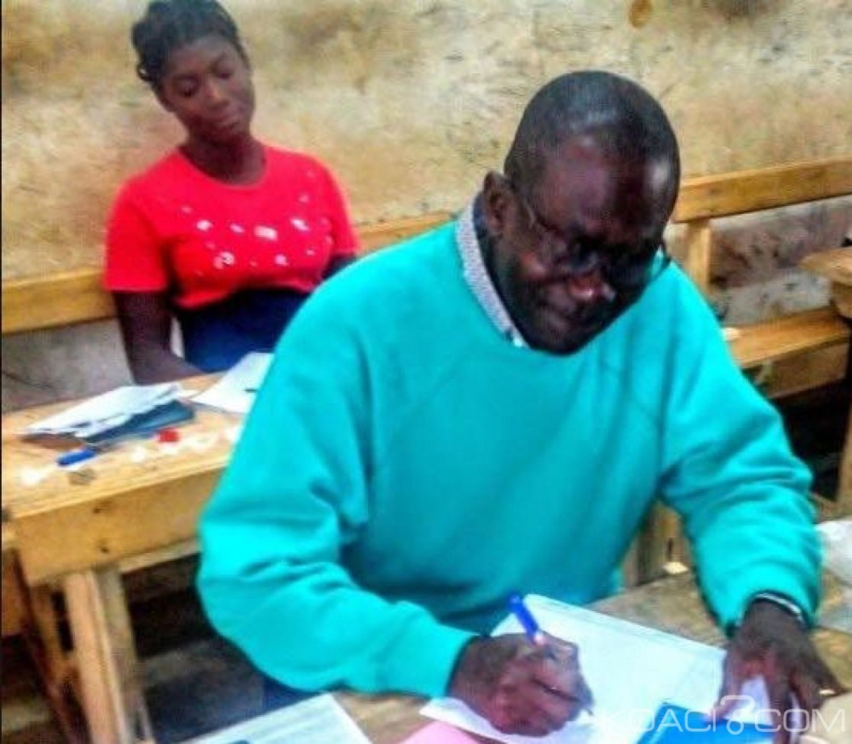 Côte d'Ivoire : BEPC 2019, un pasteur de 52 ans prend part aux épreuves pour relever un défi