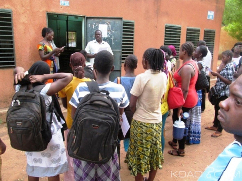 Burkina Faso : Plus de 110.000 candidats à la conquête du baccalauréat