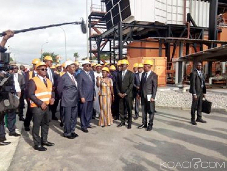 Côte d'Ivoire : Macky Sall visite les installations de la CIPREL et invite les compagnies privées d'électricité à prospecter au Sénégal