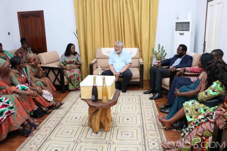 Ghana : Vœux à Rawlings pour ses 72 ans