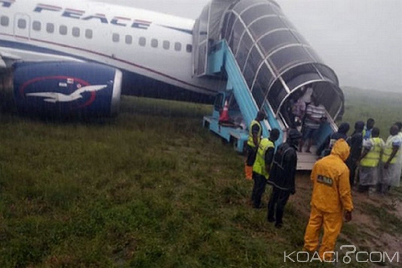 Nigeria : Sortie de piste d'un avion d'Air Peace à Port Harcourt