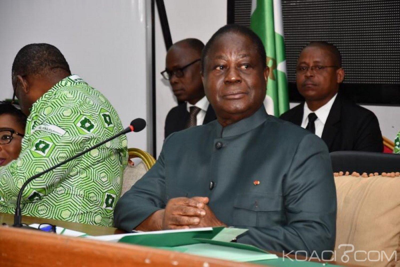 Côte d'Ivoire: Depuis Cocody, Bédié missionne ses responsables pour la victoire du PDCI en 2020 et se dit déterminé avec les partis d'opposition à mener des actions pour la réforme de la CEI