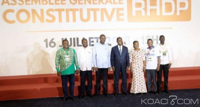 Côte d'Ivoire : Nomination des Membres du Conseil Politique du RHDP par Ouattara