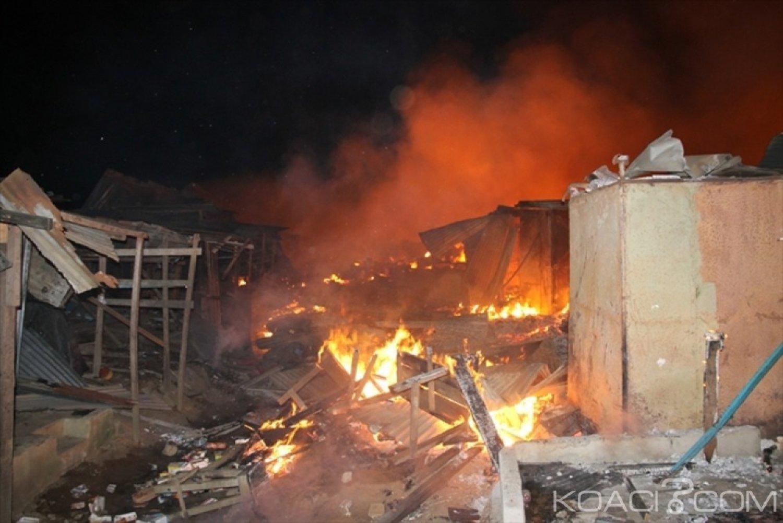 Côte d'Ivoire : Dix-sept personnes décédées sur 876 cas d'incendie au cours du premier semestre 2019