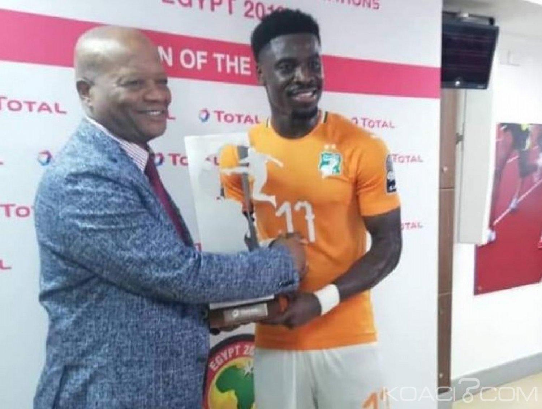 Côte d'Ivoire : CAN 2019, Serge Aurier designé l'homme du match contre l'Afrique du Sud