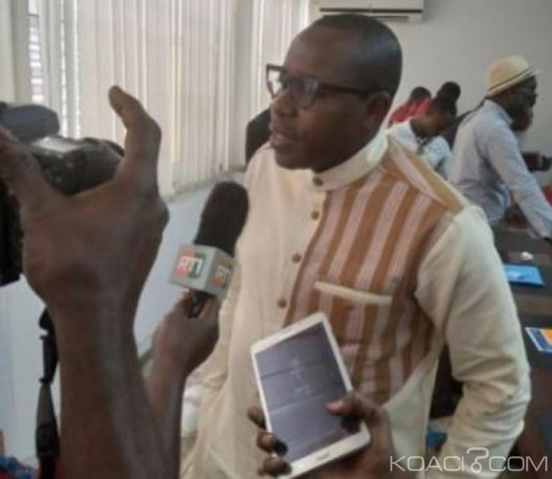 Côte d'Ivoire : Adama Dahico au lancement  de la 10è édition de son festival (FIRA) « Nous faisons l'humour sociopolitique »