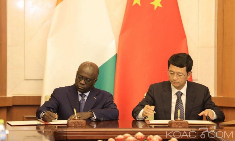 Côte d'Ivoire : Pékin annule 20 milliards FCFA  de la dette ivoirienne et lui fait don de 18 milliards FCFA