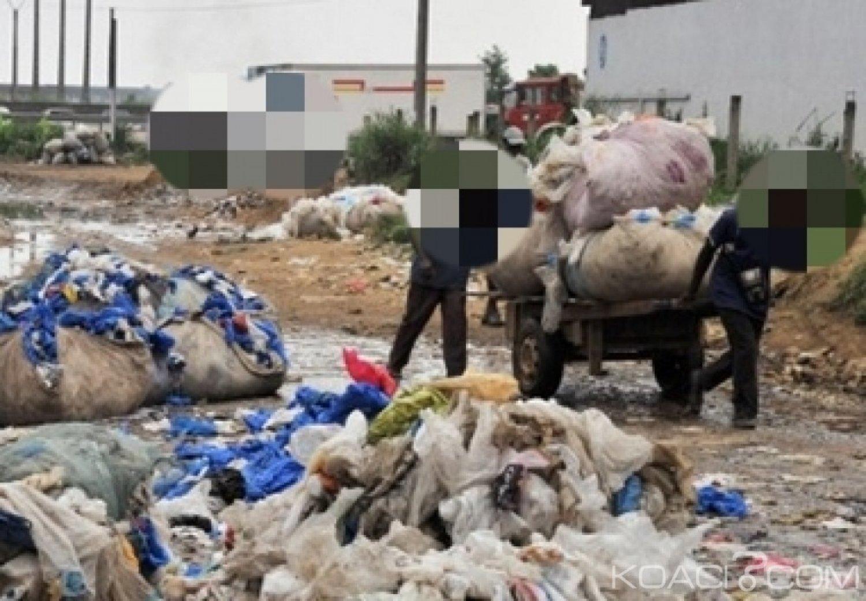 Côte d'Ivoire: Ces collecteurs de bouteilles plastiques qui représentent un véritable danger pour la santé