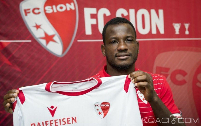 Côte d'Ivoire: Le co-meilleur buteur de la Ligue1, Oussou Konan file au FC Sion en Suisse