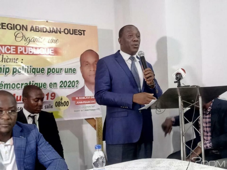 Côte d'Ivoire: Crise APF, un proche de Soro martèle « en réalité, il ne se bat même pas pour devenir président, si l'APF arrive à se regarder dans la glace, tant mieux »