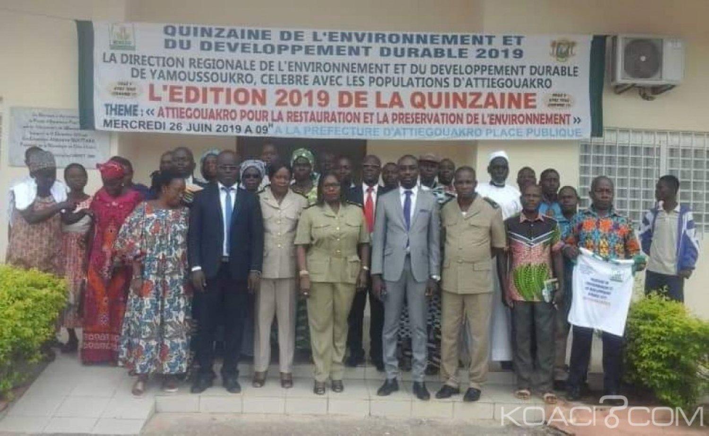 Côte d'Ivoire : Yamoussoukro, les populations d'Attiégouakro sensibilisées sur la préservation et la valorisation de l'environnement