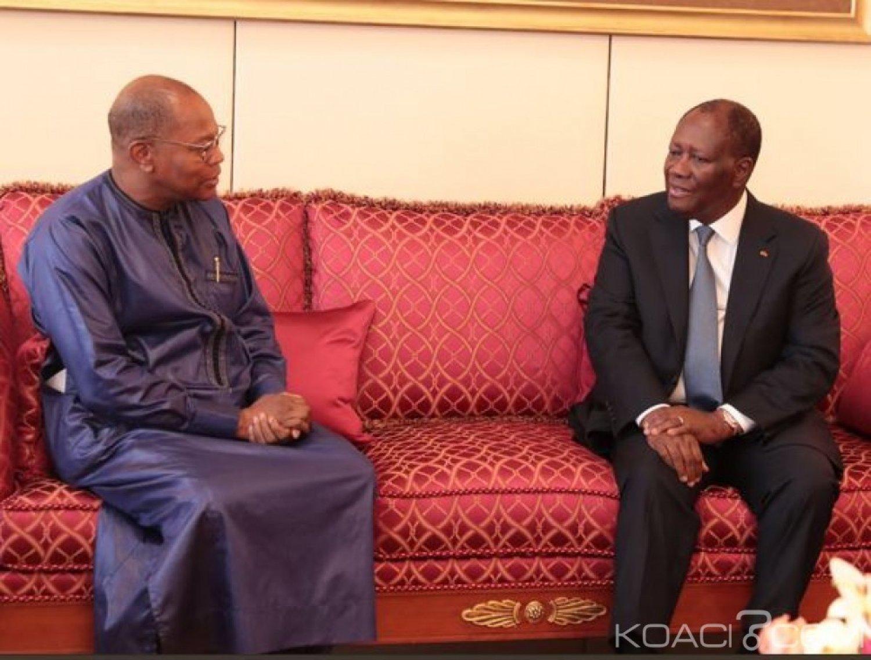 Côte d'Ivoire : Ibn Chambas après un entretien avec Ouattara, « prône des élections apaisées en 2020 »