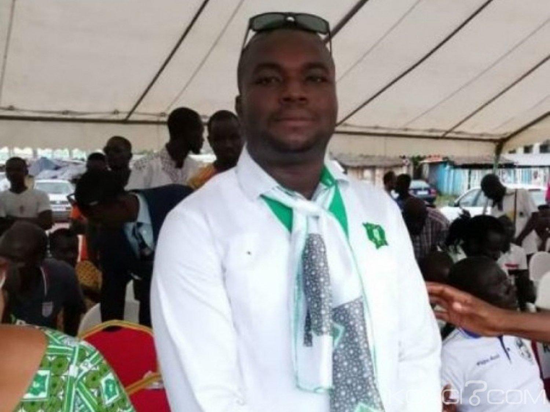 Côte d'Ivoire : Décès du secrétaire général  du PDCI à la délégation d'Adzopé, Hervé Koffi Banian