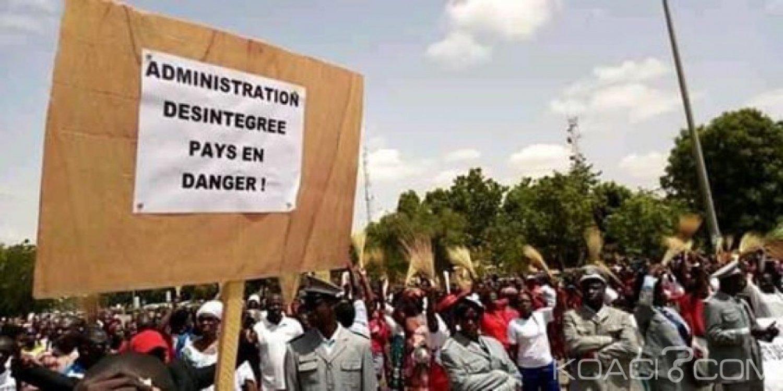 Burkina Faso: Des administrateurs civils battent le pavé pour de meilleures conditions de vie et de travail