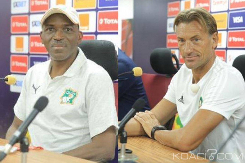 Côte d'Ivoire-Maroc: CAN 2019,  Hervé Renard «Les ivoiriens seront prêts», Kamara «Il ne s'agit pas forcement d'une revanche»