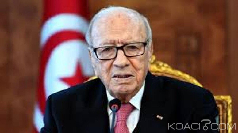 Tunisie: Le Président Béji Caïd Essebsi  victime d'un grave  malaise