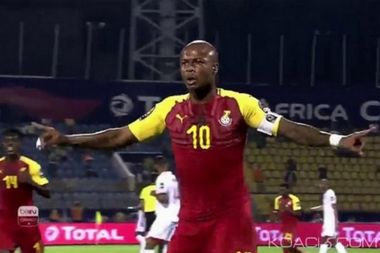 Ghana-Cameroun: CAN 2019, 2e match des Black Stars, Thomas Agyepong écarté, André Ayew incertain