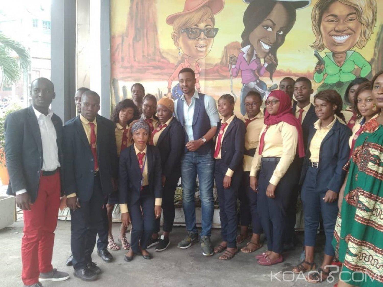 Côte d'Ivoire : Des étudiants de l'AIST en visite pratique pour toucher les réalités de leur futur métier