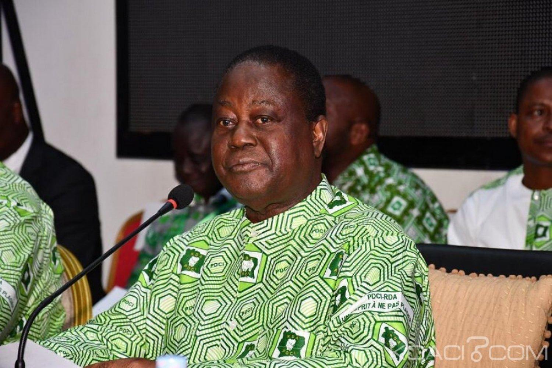 Côte d'Ivoire : A Cocody, au bureau politique du PDCI, Bédié pointe du doigt les dérives du pouvoir d'Abidjan