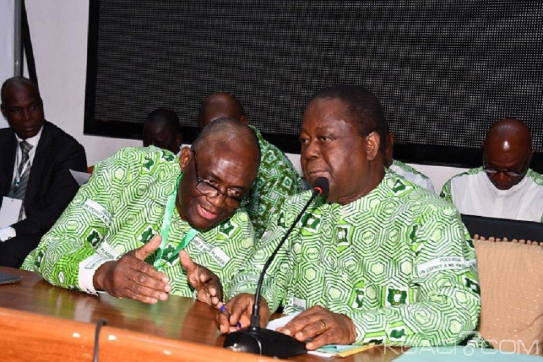 Côte d'Ivoire : Réforme CEI, Bédié instruit Guikahué à poursuivre la collaboration avec EDS, Lider et le groupe des 23 Partis politique de l'opposition