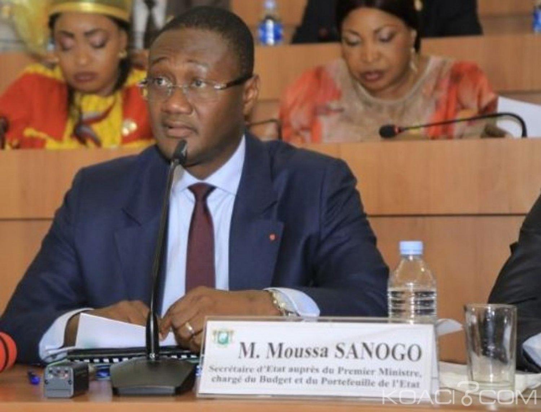 Côte d'Ivoire: Moussa Sanogo révèle que l'Etat compte désormais plus sur les ressources intérieures pour son budget 2020-2022
