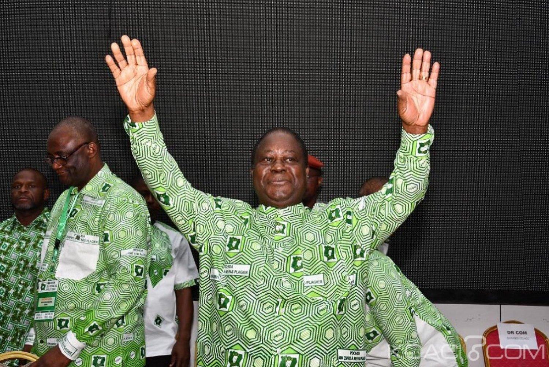 Côte d'Ivoire : Bédié à propos des dernières sorties de certains cadres RHDP «le gouvernement a failli et qu'il est dans l'incapacité de répondre aux aspirations du peuple ivoirien »