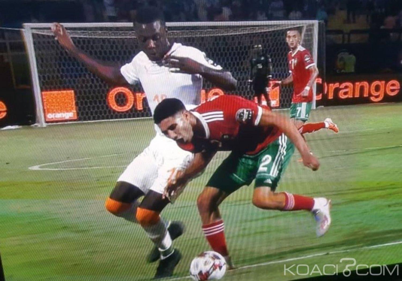 Côte d'Ivoire : Can 2019, défaite 1 à 0 des éléphants contre le Maroc qui se qualifie pour les 8eme de finale
