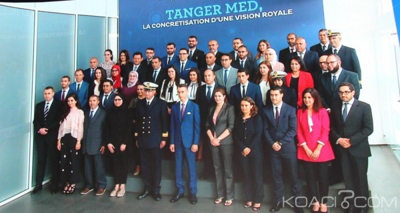 Maroc: Moulay El Hassan inaugure le port de Tanger Med II