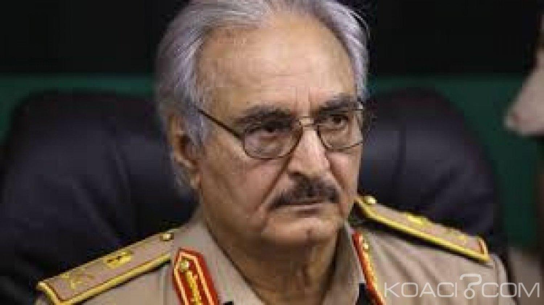 Libye:   Haftar promet d'attaquer les intérêts de la Turquie, accusée d'intervenir dans les combats