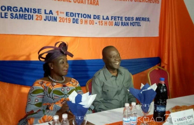 Côte d'Ivoire:  La députée Diomandé  Mondeny encourage les femmes des Enseignants-chercheurs de l'UAO