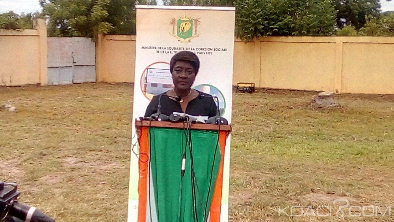 Côte d'Ivoire: À Béoumi pour la remise du «Yako» aux ayant-droits, Mariatou Koné dresse la liste des morts