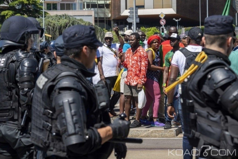 Cameroun: La police Suisse charge des manifestants anti-Biya à Genève