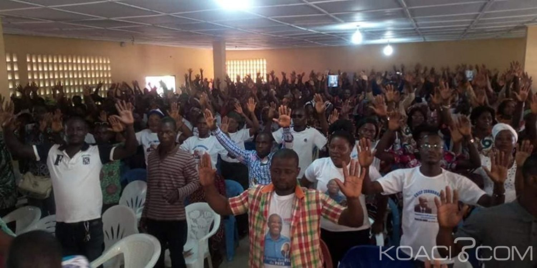 Côte d'Ivoire: Préparatif de son congrès, le Cojep mobilise à Zoukougbeu et dans deux  autres localités