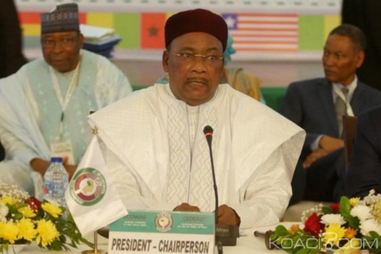 CEDEAO: Présidence, Issoufou Mahamadou succède à Buhari, ses priorités