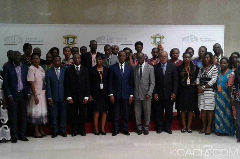 Côte d'Ivoire : Ministère des affaires étrangères, les agents formés à la gestion des archives, le SG leur demande d'avoir un regard différent