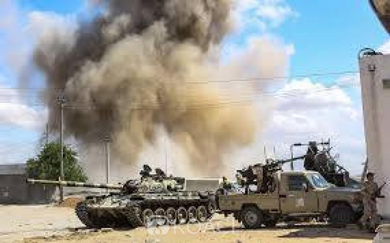 Libye: Tripoli, le GNA  dit avoir repoussé une offensive des forces Pro-Haftar