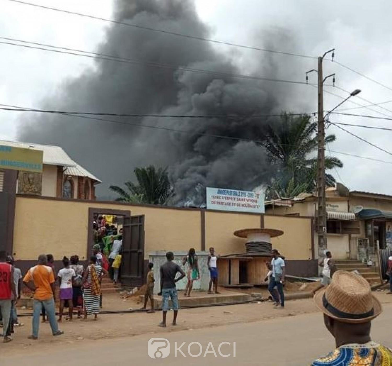 Côte d'Ivoire : Incendie à l'église catholique de Bingerville, plus de peur que de mal, voici les causes