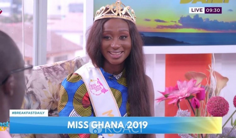 Ghana : Miss Ghana 2019 défend sa beauté contre ses détracteurs