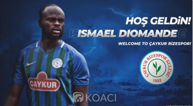 Côte d'Ivoire : Ismaël Diomandé quitte Caen et rejoint Caykur Rizespor pour deux ans