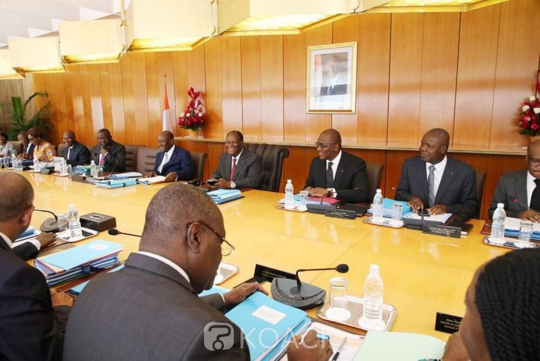 Côte d'Ivoire :   Le Gouvernement en vacance à compter de ce jour, le prochain conseil des ministres prévu le 4 septembre 2019