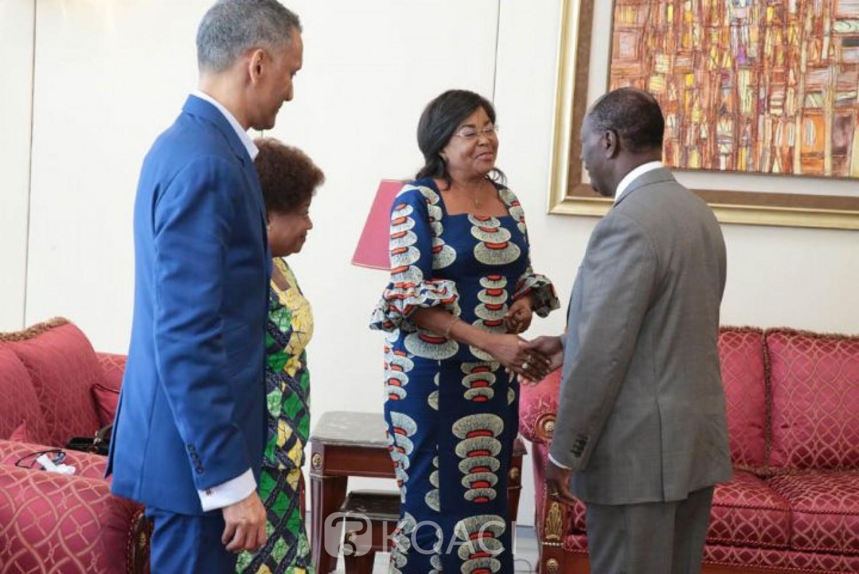 Côte d'Ivoire: Echanges à huis clos entre Ouattara et la représentante spéciale de l'Union Africaine ?