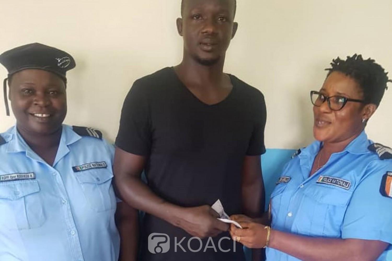 Côte d'Ivoire: Après avoir ramassé 50.000 fCFA, des policiers remettent la somme à son propriétaire