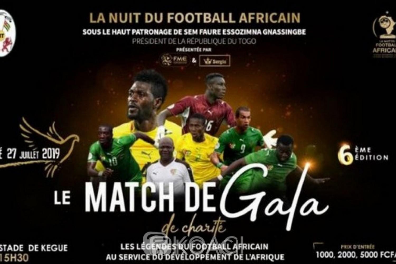 Togo: Nuit du Football Africain, Drogba, Eto'o … et Adebayor attendus à Lomé