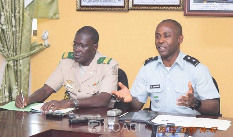 Liberia-Guinée: Renforcement de la coopération militaire, patrouilles frontalières en vue