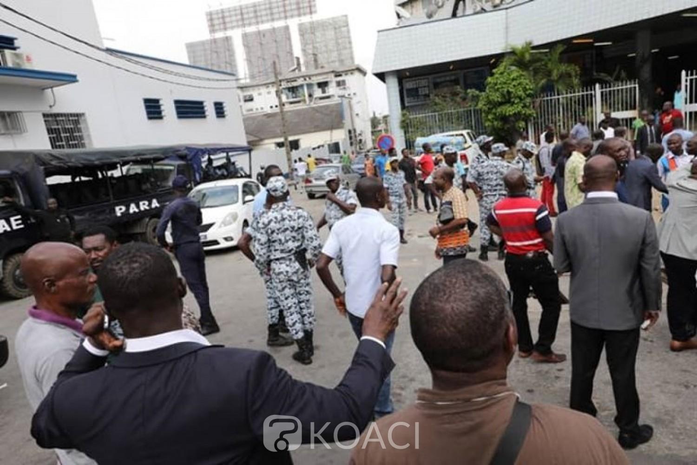 Côte d'Ivoire: Au Plateau, Gnagna Zadi et ses amis dispersés en tentant d'empêcher une passation de charges, ils accusent Kandia